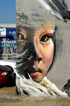 Street Art in Brunswick, Melbourne
