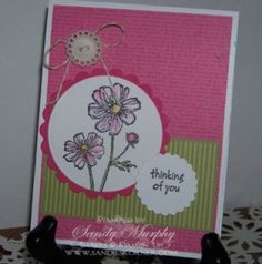 Stampin' Ups New Hostess Set Bloom With Hope www.sandieskorner.com