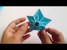 origami - modular - kite star - tutorial - dutchpapergirl - YouTube
