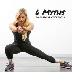 One of the hardest things about working towards fat loss goals is separating fact from fiction. There's nothing worse than realizing you've been doing something wrong for weeks! 🙈  Don't worry, we've got your back. Trainer Lindsey  breaks down the myths from the truths for us!