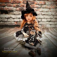 Witch Art, Art Dolls, Punk, Fantasy, Style, Fashion, Swag, Moda, Fashion Styles
