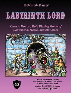 Labyrinth Lord. My favourite of retro-clones.