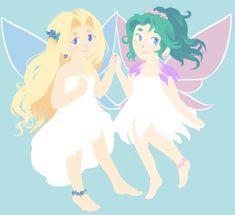 TerraCeles Fairies by LillyMiella