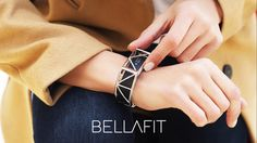 Bellafit complements your fitness tracker, transforming your wearable device into a piece of statement jewelry.