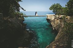 Have a beautiful destination wedding like NBC's Checkey Beckford at Tensing Pen in Negril, Jamaica.