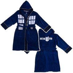 Doctor Who Hooded Bathrobe