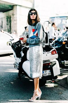 how to wear sequin