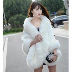Châle fourrure se marier mariage Manteau chaleureux manteau de laine Bride Largeur: 60cm Style: châle Composant contenu: 96% ou plus Longueur: 175cm Fonction: multifonction Matière: Cuir herbe