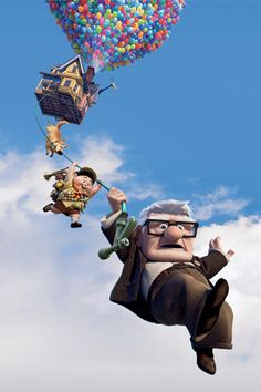 Up ~ BEST animated movie story line. My #1 favorite. Beautiful.