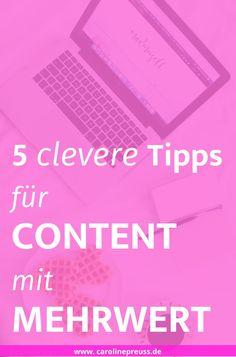 Wenn mich jemand fragen würde, was beim Bloggen am wichtigsten ist, dann würde ich nur ein Wort antworten: MEHRWERT! Ein Blog lebt von hochwertigen, einzigartigen Inhalten und kann meiner Meinung nach auch nur so erfolgreich werden. Doch auch für Unternemen ist der Mehrwert-Aspekt interessant. Im folgenden Artikel möchte ich dir erklären, was es mit dem Mehrwert auf sich hat und wie du Content mit Mehrwert erstellst.  Content mit Mehrwert: 5 clevere Mehrwert Tipps für deinen Blog!