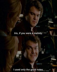 The Holiday -Jack Black is the best part of this movie (Kate is a close second)
