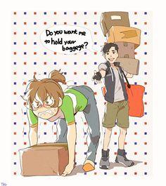 ※Age swap Shiro 14 years old Pidge 25 years old
