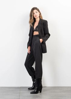 PANTALON AMPLE Trousers, Normcore, Style, Fashion, Fashion Ideas, Woman, Trouser Pants, Swag, Moda