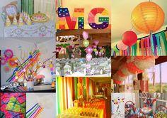 Momentos de decoração em eventos