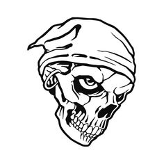 Dessin de pirate gratuit a imprimer et colorier