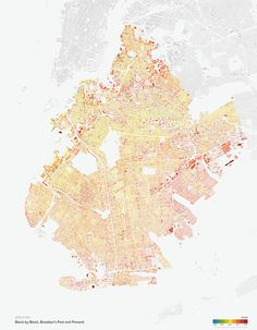 Every Building In Brooklyn, Mapped Out By Age   Co.Design: business + innovation + design