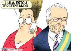 "A PRESIDENTE DILMA, ENFIM, REALIZOU O SONHO DE RAUL PILLA. ""O sonho do político Raul Pilla de implantar no Brasil o regime Parlamentarista foi realizado pela nossa presidente Dilma Rousseff,..."""