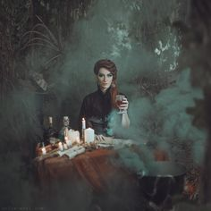 .She turned around, the shadows and light confounding her path, and then the Teller was there. In the middle of the forest, with the items for tea and potions, and she didn't understand.