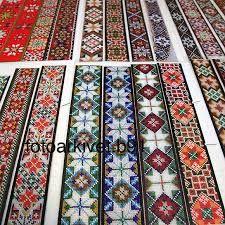 Klikk for å vise bildet i full størrelse Hardanger Embroidery, Folk Embroidery, Beaded Embroidery, Embroidery Stitches, Brick Patterns, Loom Patterns, Craft Patterns, Beading Patterns, Swedish Traditions