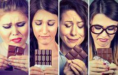 Sad young women tired of diet restrictions craving sweets chocolate. by Sad young women tired of diet restrictions craving sweets chocolate. Craving Sweets, Beyond Diet, Shadow People, Paleo Diet Plan, Lose Weight, Weight Loss, Face Expressions, Sugar Cravings, Running Workouts