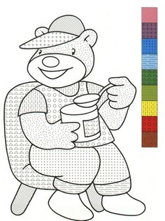 boy with airplane color by number free coloring pages pinterest boys coloring and colors