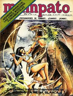 Mampato # 319, marzo 1974. En portada Kouma (Comic Chile)
