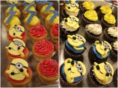 minion photos | Minion Cupcakes and Fairy Cake Ideas | Michal Marie: Travel, Food and ...
