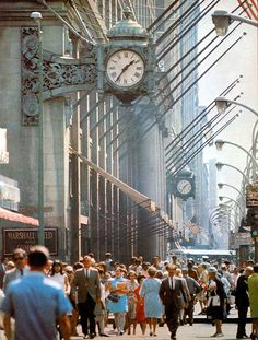Chicago in the 60s. I don't know how I can fit this to my wall art because its actually in color.