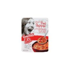 Campbell's Go Soup Creamy Red Pepper with Smoked Gouda (Case of 8)