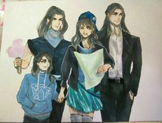 Fingon, Argon, Aredhel and Turgon, AU