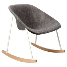 Kola rocking chair, wood from Finnish Design Shop. Saved to Furniture Love. Shop more products from Finnish Design Shop on Wanelo.