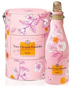 Veuve Clicquot...Its not a party without Pink Bubbly:)
