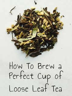 Discover the benefits of drinking loose leaf tea and how to brew the perfect cup. #tea #looseleaftea #reducestress http://www.unstressyourself.com/benefits-loose-leaf-tea-perfect-cup/