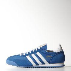 adidas Dragon Shoes - Bluebird / Metallic Gold / White | adidas UK