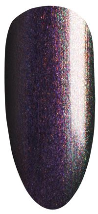 Shellac color by layering. Mood Ring | CND
