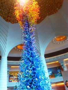 Central Sculpture, Lobby, Atlantis, Dubai, U.A.E.