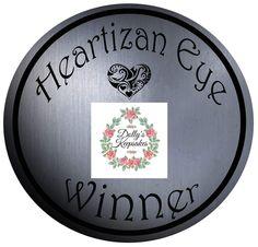 14 best Heartizan Eye Winner Badges images on Pinterest 9c0f668b53ee3
