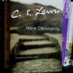 C.S. Lewis -- Mere Christianity -- a book worth reading.