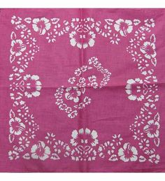 Bandana With Flowers - Bandana With Floral Print *** This is an Amazon Affiliate link. Visit the image link more details.
