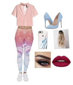 """""""Untitled #16"""" by carleik08 on Polyvore featuring Steve Madden, Casetify and Huda Beauty"""