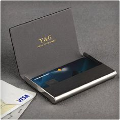 Luxury excuve gt3 custom personalized business card holder case business card holder colourmoves