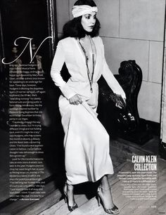 Vanessa Hudgens Does Bianca Jagger for InStyle March 2011