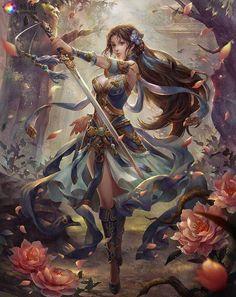 Fantasy Girl - Fantasy Girls Wallpapers and Images Dark Fantasy Art, Anime Fantasy, Fantasy Artwork, Chica Fantasy, Fantasy Images, Fantasy Women, Fantasy Girl, Anime Artwork, Art And Illustration