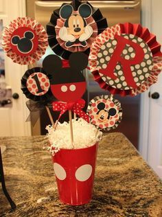 mickey mouse 1st birthday party ideas - Google Search