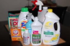 Twenty Something: How To Make Green Cleaning Products