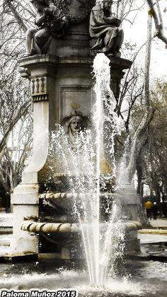 Fuente de Apolo. Paseo del Prado. Apollo Fountain. Paseo del Prado