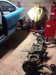 E36 M3 rear axle