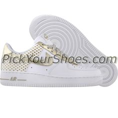 finest selection 077fa be0a8 Nike Air Force 1 (white   metallic gold star) 314219-104 -  79.99