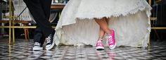 Na sportowo - Idealne buty ślubne dla Panny Młodej