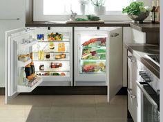 UIK 1620 Integrated underbench fridge for the luxury kitchen or entertaining area. #Liebherr #LiebherrAustralia #freezer #kitchen #kitchenappliances #foodstorage #luxurykitchen